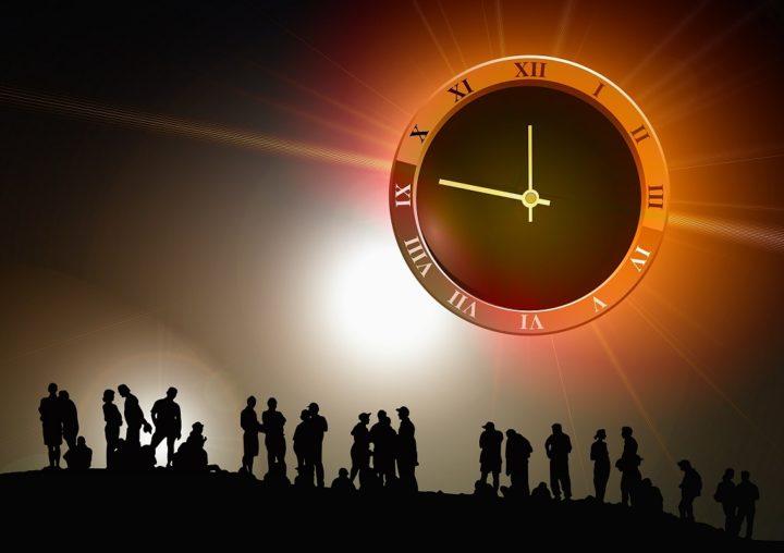 The big clock in the sky